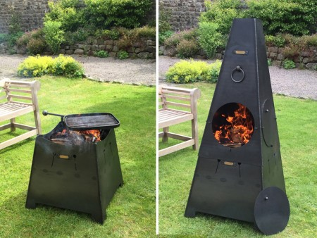 Chiminea or Firepit 2 in 1 Web