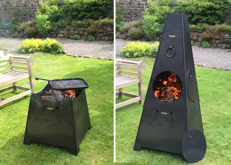 Chiminea or Firepit 2 in 1 Web - Chiminea Or Fire Pit 2 In 1