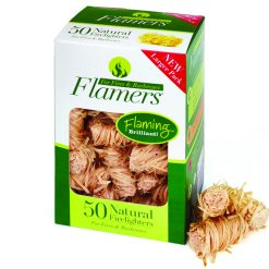 Firelighters Flamers on white background